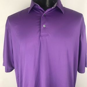 FootJoy Shirts - Men's Purple Footjoy Golf Polo Shirt
